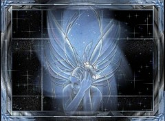 Wallpapers Fantasy and Science Fiction Ange bleu
