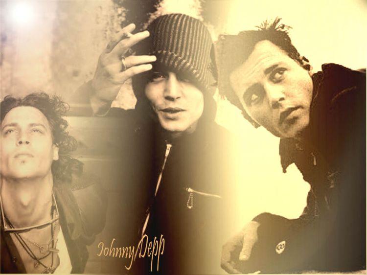 Fonds d'écran Célébrités Homme Johnny Depp Johnny!