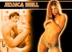 Wallpapers Celebrities Women Jessica BIEL par Lalim