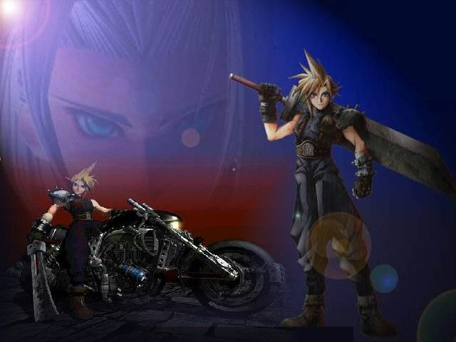 Wallpapers Video Games Final Fantasy VII Clad