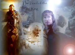 Fonds d'écran Cinéma Le retour du roi