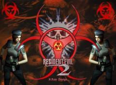 Fonds d'écran Jeux Vidéo Résident-Evil II