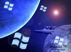 Fonds d'écran Informatique L'espace XP