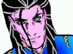 Fonds d'écran Art - Crayon Ebron, Elfe d'origine Divine
