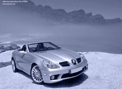 Fonds d'écran Voitures Mercedes slk 55 AMG - by bewall