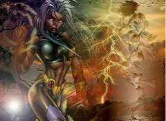 Fonds d'écran Comics et BDs Tornade