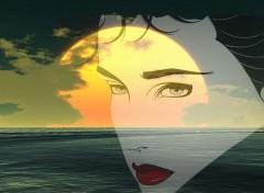 Fonds d'écran Art - Numérique Ocean Evening