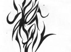 Fonds d'écran Art - Crayon masque