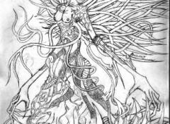 Wallpapers Art - Pencil jenova 2