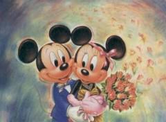 Fonds d'écran Dessins Animés Mickey et Minnie