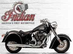 Wallpapers Motorbikes Indian Chief 2003