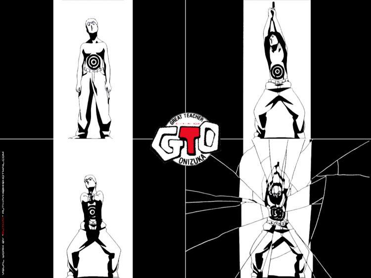 Fonds d'écran Manga Gto - Great Teacher Onizuka Ruthay GTO 01