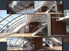 Fonds d'écran Art - Numérique Le loft- en attendant les demenageurs