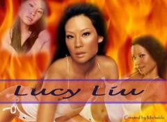 Fonds d'écran Célébrités Femme Lucy Liu
