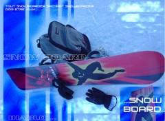 Fonds d'écran Sports - Loisirs Snowboard baby