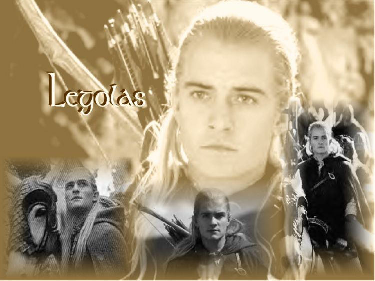 Fonds d'écran Cinéma Le Seigneur des Anneaux : le Retour du Roi Legolas