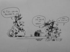 Fonds d'écran Art - Crayon joe bar