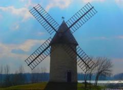 Fonds d'écran Constructions et architecture Moulin en charente