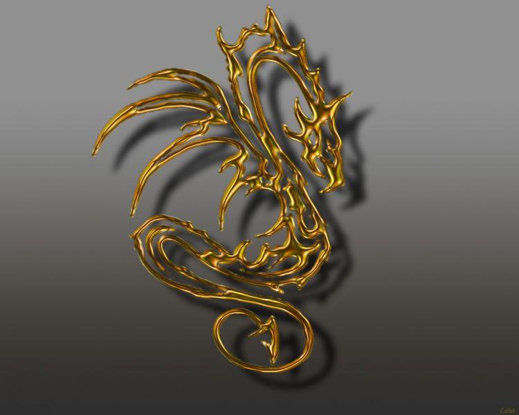 Fonds d'écran Fantasy et Science Fiction Créatures : Dragons AmbreDragon
