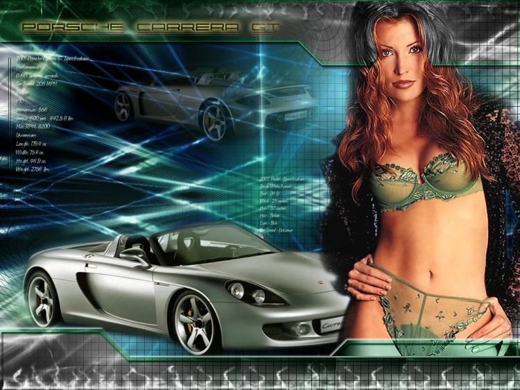 Wallpapers Cars Wallpapers Girls And Cars Porsche Girl By