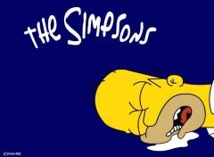 Fonds d'écran Dessins Animés Homer mort
