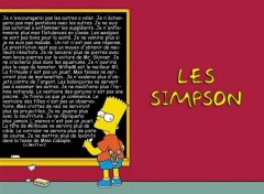 Fonds d'écran Dessins Animés Bart copie !