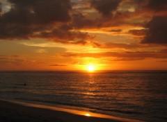 Fonds d'écran Voyages : Afrique Coucher de soleil (bis)