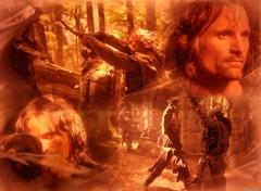 Fonds d'écran Cinéma Aragorn, combattant contre le mal!