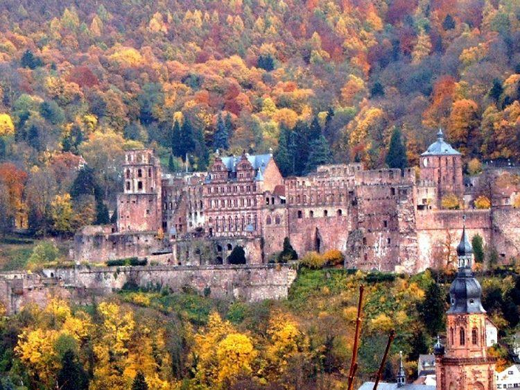 Fonds d'écran Voyages : Europe Allemagne Heidelberg_2