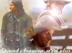 Fonds d'écran Célébrités Homme Quand Aragorn n'est plus!