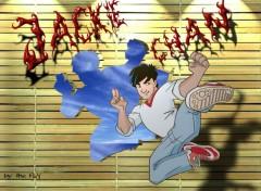 Fonds d'écran Dessins Animés Jackie Chan