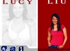 Fonds d'écran Célébrités Femme Lucy so beauty