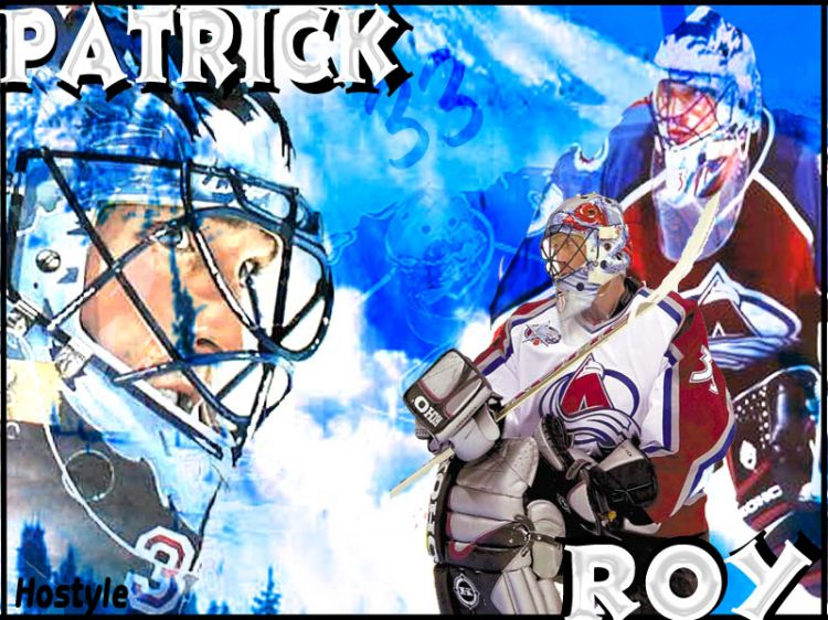 Wallpapers Sports - Leisures Hockey 33 * Patrick Roy * 33