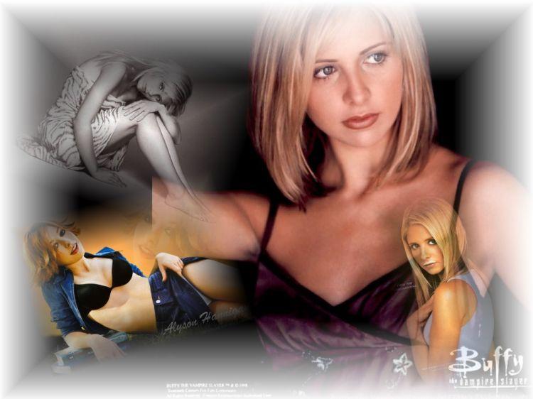 Fonds d'écran Séries TV Buffy Contre Les Vampires buffy