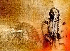 Fonds d'écran Art - Numérique Sitting Bull