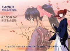 Wallpapers Manga rurouni kenshin & koaru