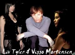 Fonds d'écran Cinéma Liv Tyler et Viggo Mortensen