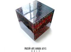 Fonds d'écran Grandes marques et publicité Musée de Dole - Grand Cube Rouge