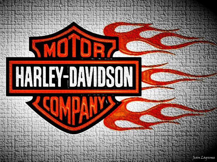 Wallpapers Motorbikes Harley Davidson Harley Tribal Flaming