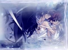 Fonds d'écran Manga dark et daisuke