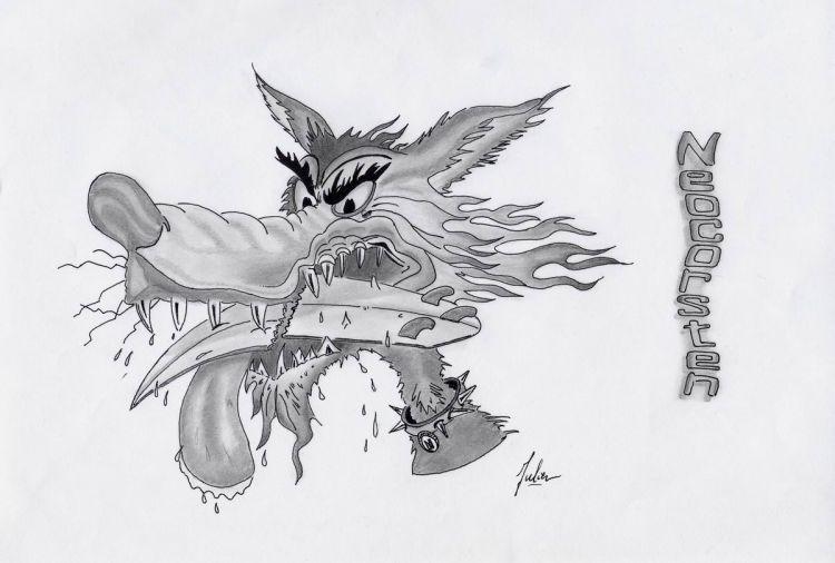 Wallpapers Art - Pencil Comics - Animals mon pote Neo