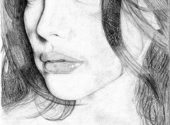 Fonds d'écran Art - Crayon Arwen