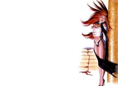 Wallpapers Comics vampire girl