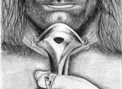 Fonds d'écran Art - Crayon Aragorn