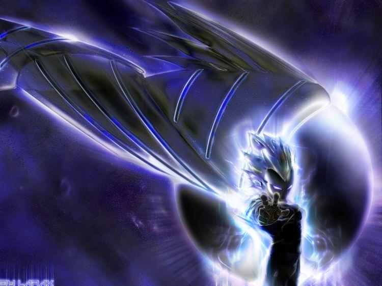 Fonds d'écran Manga Dragon Ball Z cyber angel vegeta 2