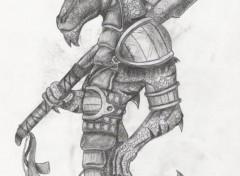 Fonds d'écran Art - Crayon Humanus Saura