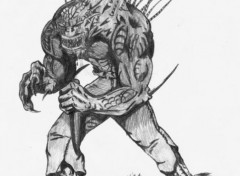 Fonds d'écran Art - Crayon Monstre