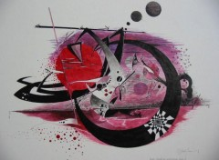 Wallpapers Art - Painting TERRE BATTUE