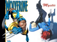 Wallpapers Comics Wolverine Vs Mystic By Daddy
