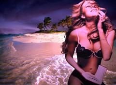 Wallpapers Music Mariah Beach
